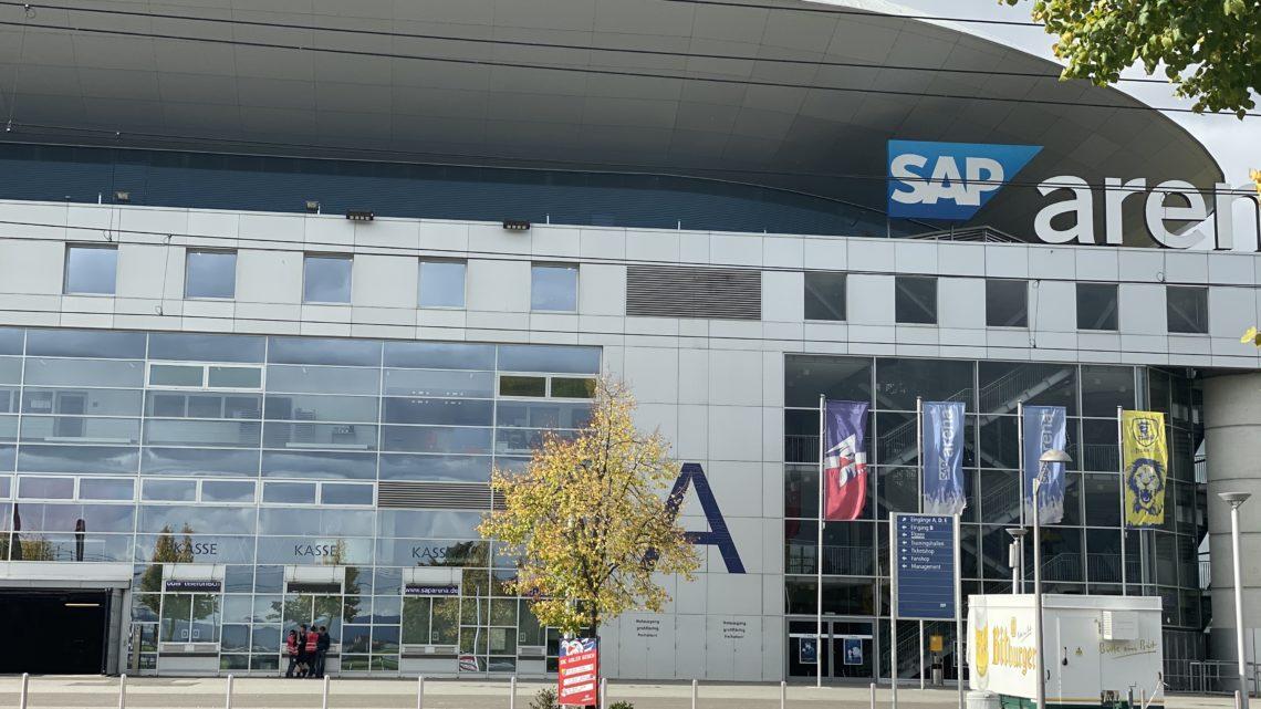 Es geht auch schneller SAP Arena Mannheim.
